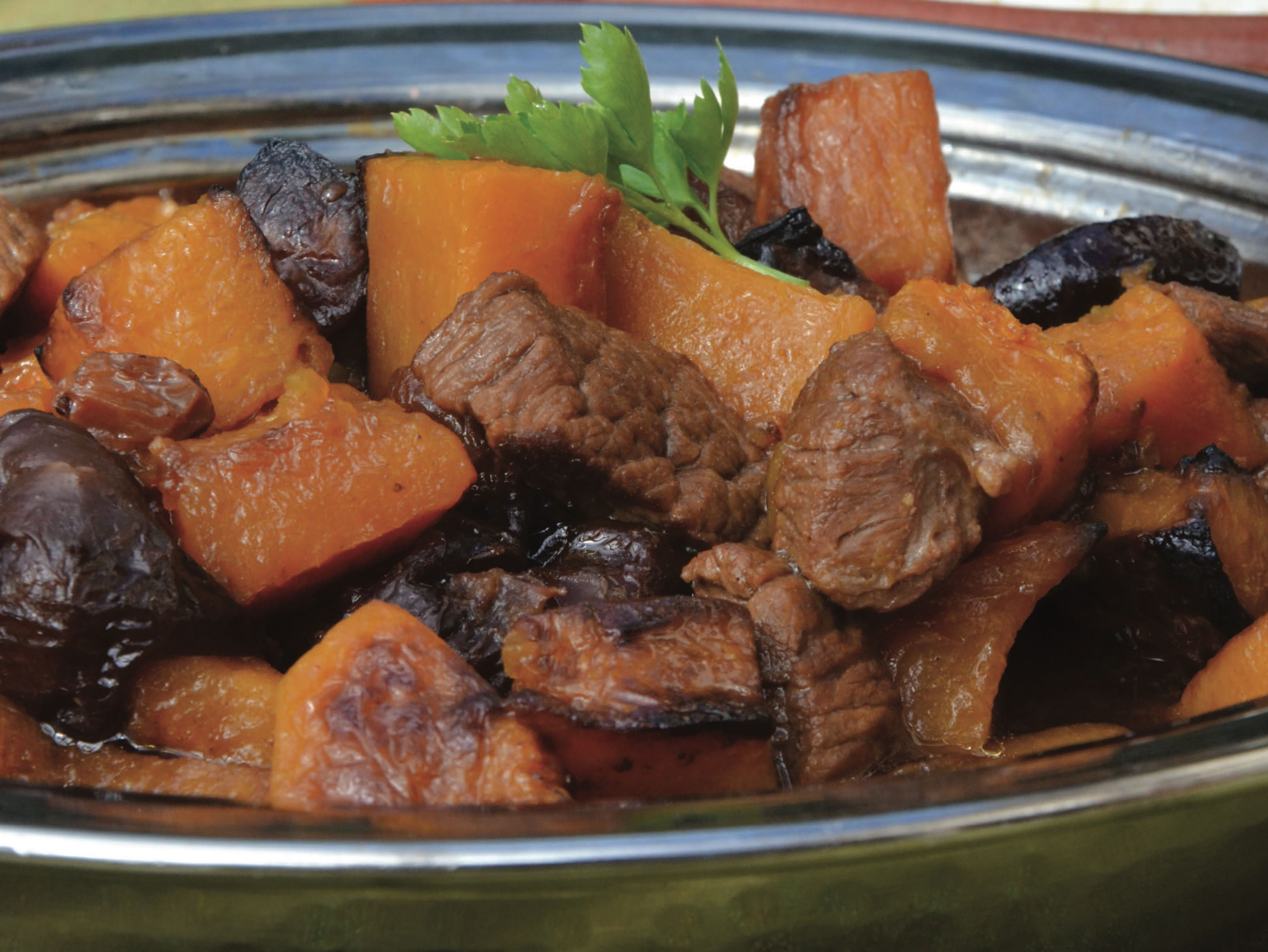 pumpkin stew recipe from new edition of the gaza kitchen just