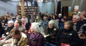 Audience at Elliott Bay Book Company