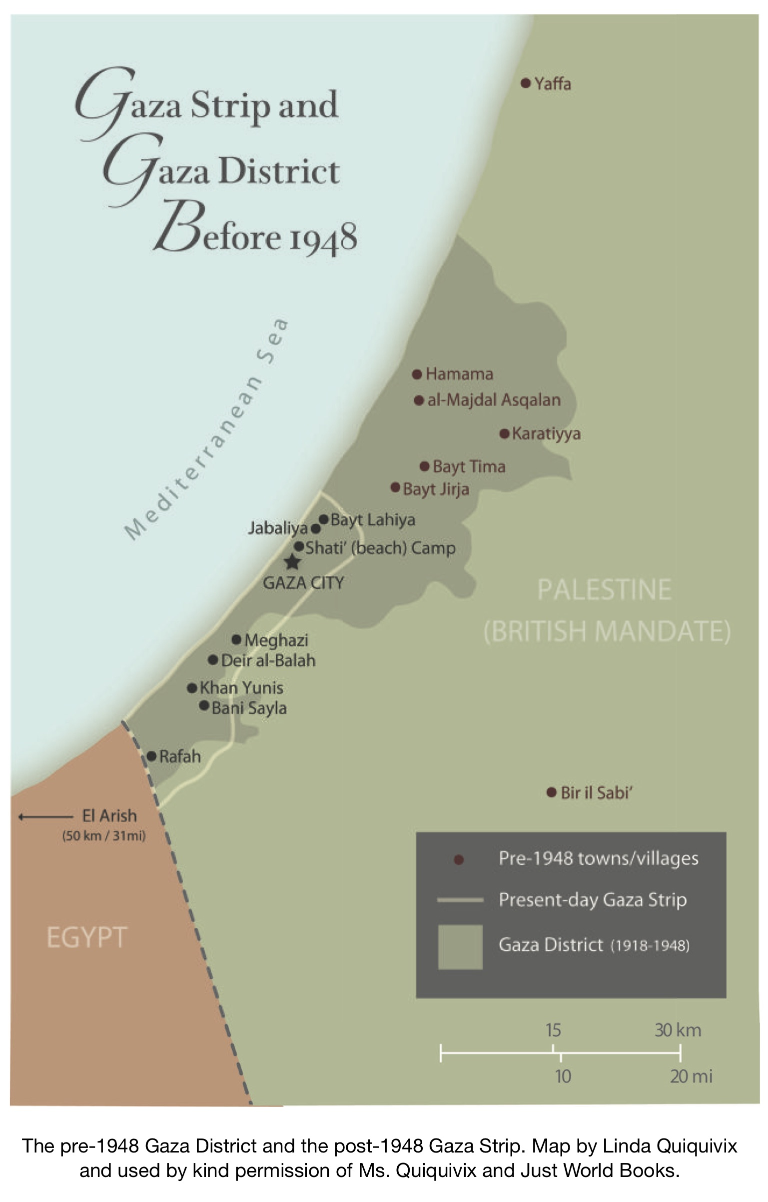 Background Info for the Great March of Return (Palestine