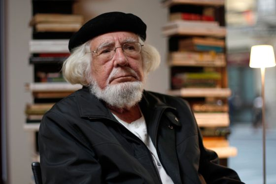 Nicaraguan poet, writer, priest and supporter of the Liberation theology, Ernesto Cardenal. PEN International.